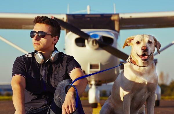RSVP pets for air travel