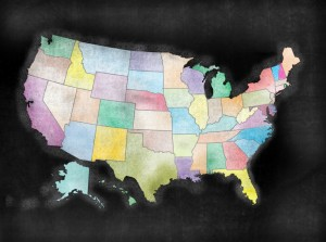 Business friendly states
