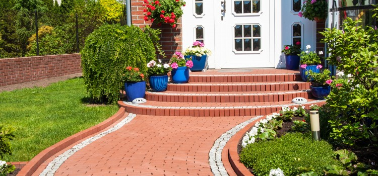 Create an impressive curb appeal